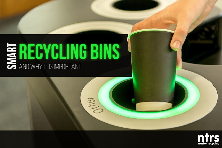 Smart recycling bins and why it is important | NTRS blog